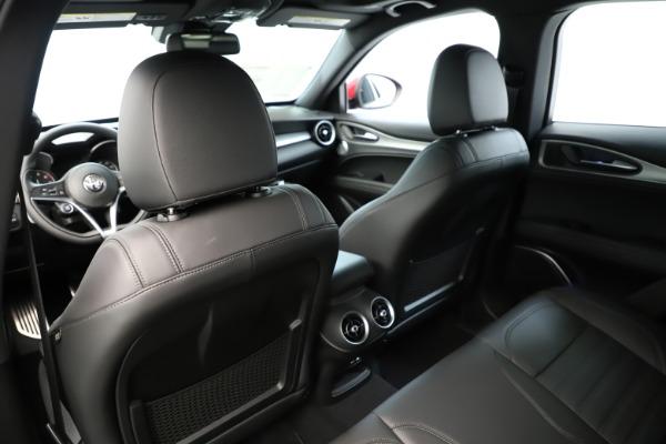 New 2019 Alfa Romeo Stelvio Ti Sport Q4 for sale Sold at Rolls-Royce Motor Cars Greenwich in Greenwich CT 06830 20