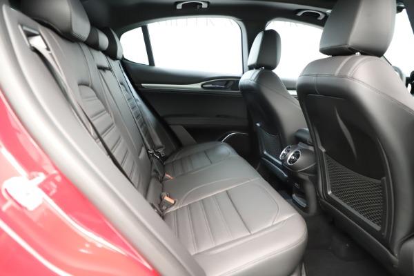 New 2019 Alfa Romeo Stelvio Ti Sport Q4 for sale Sold at Rolls-Royce Motor Cars Greenwich in Greenwich CT 06830 27