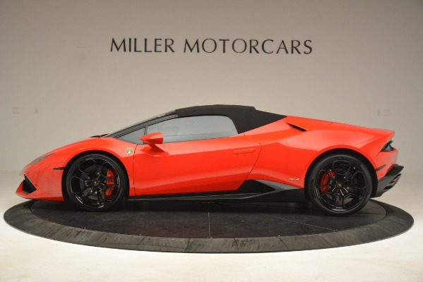 Used 2017 Lamborghini Huracan LP 610-4 Spyder for sale Sold at Rolls-Royce Motor Cars Greenwich in Greenwich CT 06830 11