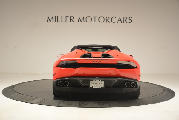 Used 2017 Lamborghini Huracan LP 610-4 Spyder for sale Sold at Rolls-Royce Motor Cars Greenwich in Greenwich CT 06830 13