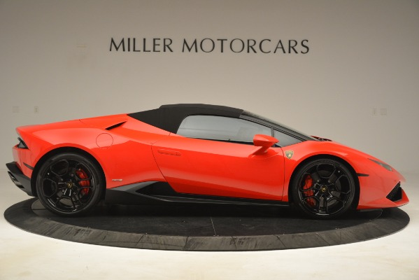 Used 2017 Lamborghini Huracan LP 610-4 Spyder for sale Sold at Rolls-Royce Motor Cars Greenwich in Greenwich CT 06830 15