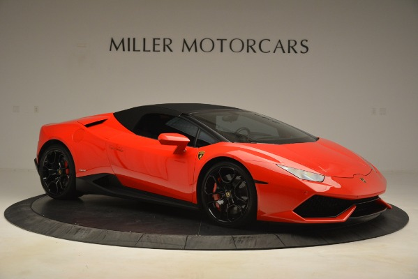 Used 2017 Lamborghini Huracan LP 610-4 Spyder for sale Sold at Rolls-Royce Motor Cars Greenwich in Greenwich CT 06830 16