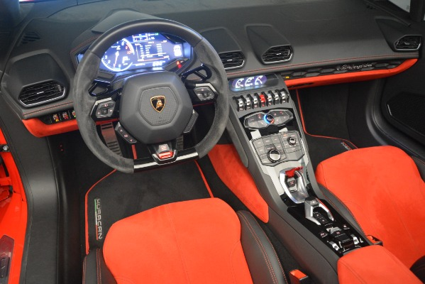 Used 2017 Lamborghini Huracan LP 610-4 Spyder for sale Sold at Rolls-Royce Motor Cars Greenwich in Greenwich CT 06830 19