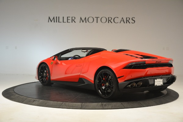 Used 2017 Lamborghini Huracan LP 610-4 Spyder for sale Sold at Rolls-Royce Motor Cars Greenwich in Greenwich CT 06830 3