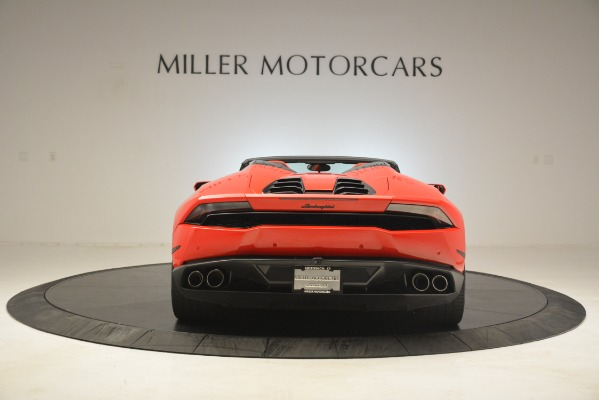 Used 2017 Lamborghini Huracan LP 610-4 Spyder for sale Sold at Rolls-Royce Motor Cars Greenwich in Greenwich CT 06830 4