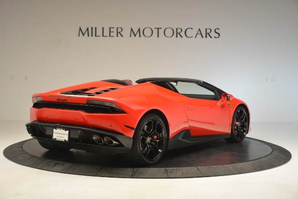 Used 2017 Lamborghini Huracan LP 610-4 Spyder for sale Sold at Rolls-Royce Motor Cars Greenwich in Greenwich CT 06830 5