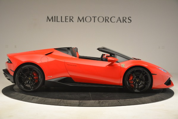 Used 2017 Lamborghini Huracan LP 610-4 Spyder for sale Sold at Rolls-Royce Motor Cars Greenwich in Greenwich CT 06830 6