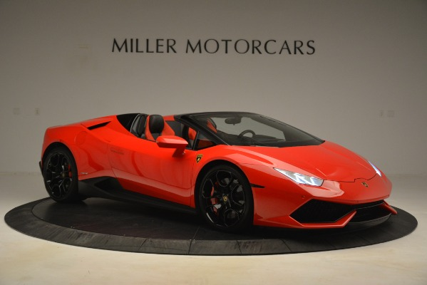 Used 2017 Lamborghini Huracan LP 610-4 Spyder for sale Sold at Rolls-Royce Motor Cars Greenwich in Greenwich CT 06830 7
