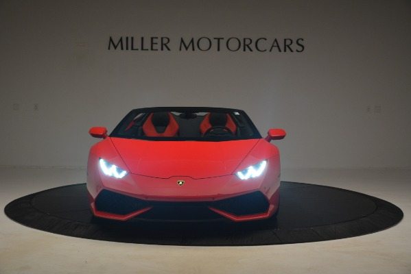 Used 2017 Lamborghini Huracan LP 610-4 Spyder for sale Sold at Rolls-Royce Motor Cars Greenwich in Greenwich CT 06830 8