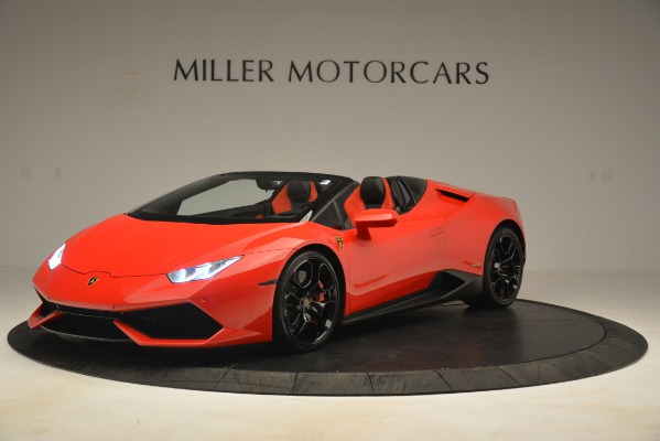 Used 2017 Lamborghini Huracan LP 610-4 Spyder for sale Sold at Rolls-Royce Motor Cars Greenwich in Greenwich CT 06830 1