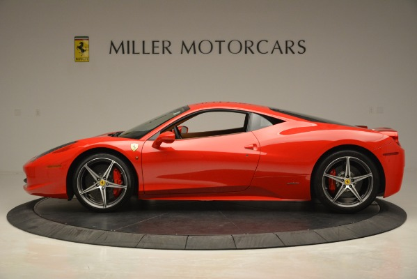 Used 2014 Ferrari 458 Italia for sale Sold at Rolls-Royce Motor Cars Greenwich in Greenwich CT 06830 3