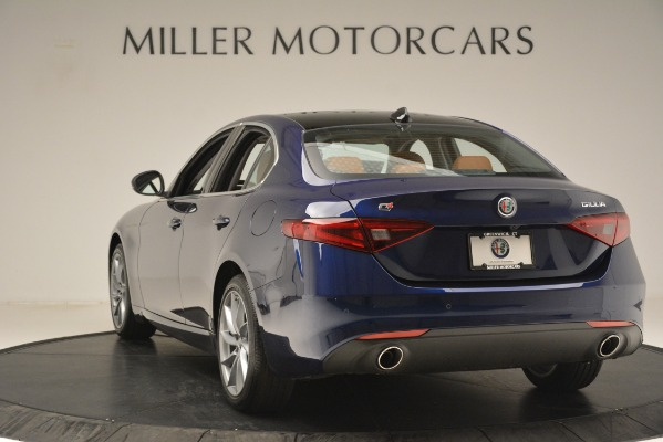 New 2019 Alfa Romeo Giulia Q4 for sale Sold at Rolls-Royce Motor Cars Greenwich in Greenwich CT 06830 5