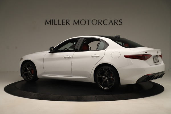 New 2019 Alfa Romeo Giulia Ti Sport Q4 for sale Sold at Rolls-Royce Motor Cars Greenwich in Greenwich CT 06830 4