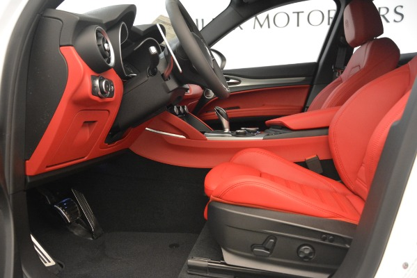 New 2019 Alfa Romeo Stelvio Ti Sport Q4 for sale Sold at Rolls-Royce Motor Cars Greenwich in Greenwich CT 06830 14