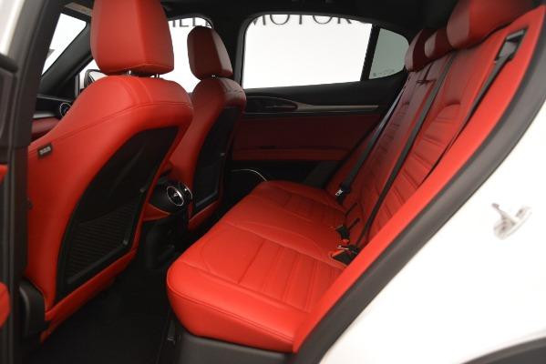 New 2019 Alfa Romeo Stelvio Ti Sport Q4 for sale Sold at Rolls-Royce Motor Cars Greenwich in Greenwich CT 06830 19