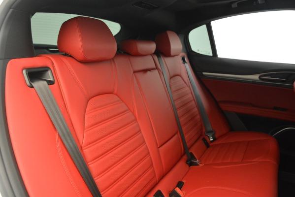 New 2019 Alfa Romeo Stelvio Ti Sport Q4 for sale Sold at Rolls-Royce Motor Cars Greenwich in Greenwich CT 06830 26