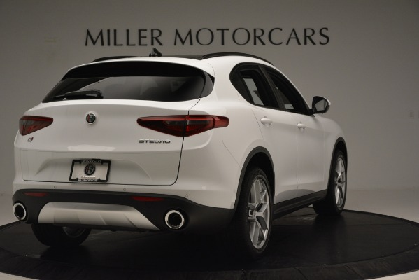 New 2019 Alfa Romeo Stelvio Ti Sport Q4 for sale Sold at Rolls-Royce Motor Cars Greenwich in Greenwich CT 06830 7