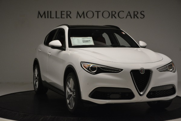New 2019 Alfa Romeo Stelvio Ti Sport Q4 for sale Sold at Rolls-Royce Motor Cars Greenwich in Greenwich CT 06830 11