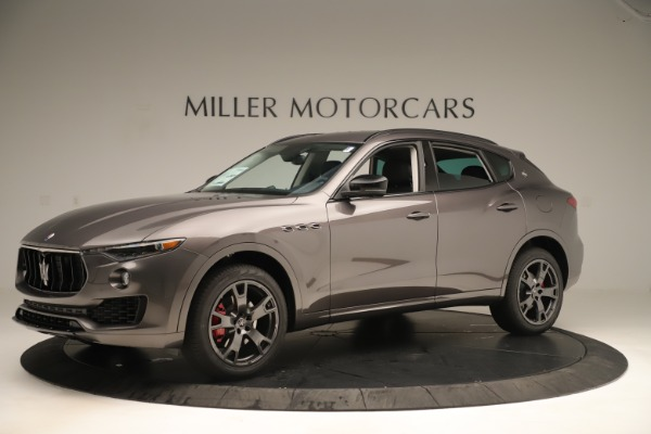 New 2019 Maserati Levante Q4 Nerissimo for sale Sold at Rolls-Royce Motor Cars Greenwich in Greenwich CT 06830 2