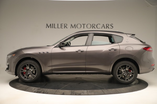 New 2019 Maserati Levante Q4 Nerissimo for sale Sold at Rolls-Royce Motor Cars Greenwich in Greenwich CT 06830 3