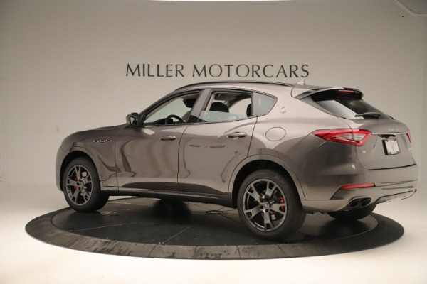 New 2019 Maserati Levante Q4 Nerissimo for sale Sold at Rolls-Royce Motor Cars Greenwich in Greenwich CT 06830 4