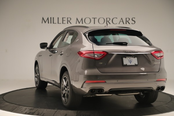 New 2019 Maserati Levante Q4 Nerissimo for sale Sold at Rolls-Royce Motor Cars Greenwich in Greenwich CT 06830 5