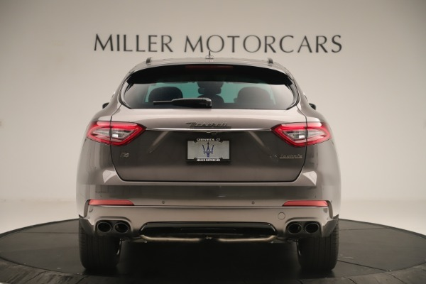 New 2019 Maserati Levante Q4 Nerissimo for sale Sold at Rolls-Royce Motor Cars Greenwich in Greenwich CT 06830 6
