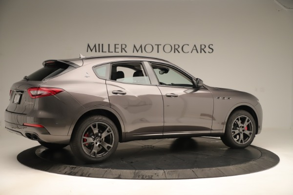 New 2019 Maserati Levante Q4 Nerissimo for sale Sold at Rolls-Royce Motor Cars Greenwich in Greenwich CT 06830 8