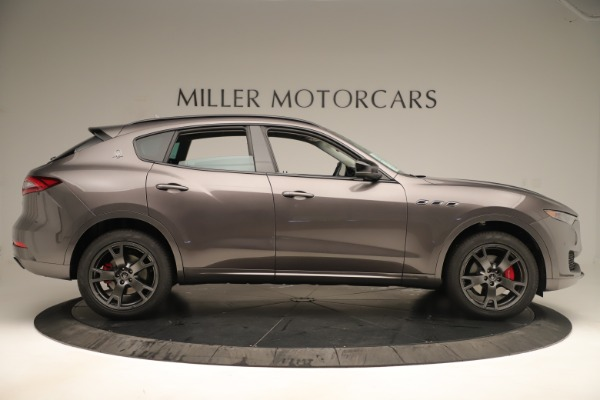 New 2019 Maserati Levante Q4 Nerissimo for sale Sold at Rolls-Royce Motor Cars Greenwich in Greenwich CT 06830 9
