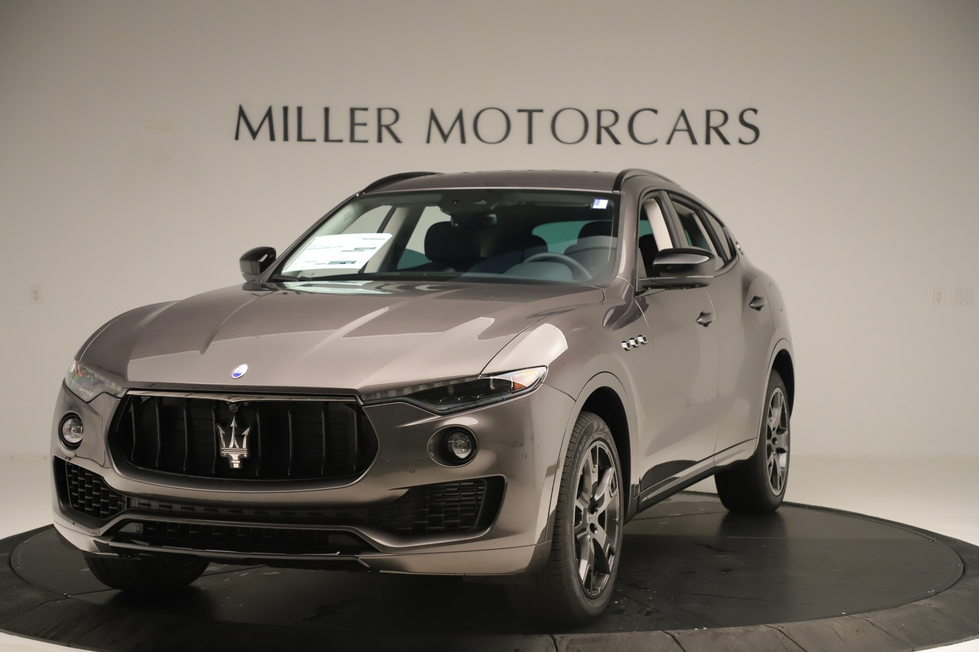 New 2019 Maserati Levante Q4 Nerissimo for sale Sold at Rolls-Royce Motor Cars Greenwich in Greenwich CT 06830 1