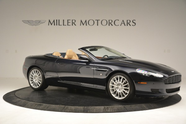 Used 2007 Aston Martin DB9 Convertible for sale Sold at Rolls-Royce Motor Cars Greenwich in Greenwich CT 06830 10