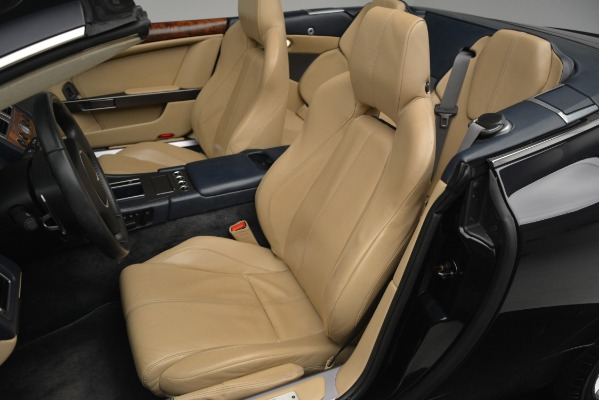 Used 2007 Aston Martin DB9 Convertible for sale Sold at Rolls-Royce Motor Cars Greenwich in Greenwich CT 06830 17
