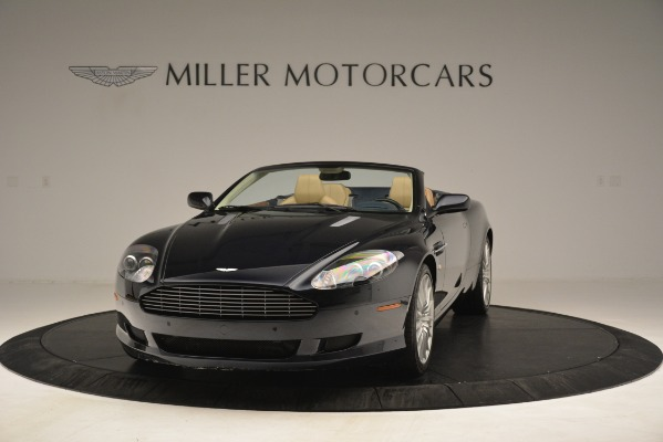 Used 2007 Aston Martin DB9 Convertible for sale Sold at Rolls-Royce Motor Cars Greenwich in Greenwich CT 06830 2