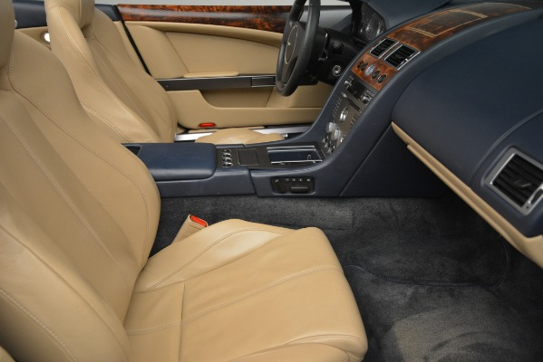 Used 2007 Aston Martin DB9 Convertible for sale Sold at Rolls-Royce Motor Cars Greenwich in Greenwich CT 06830 20