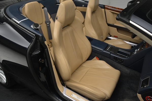 Used 2007 Aston Martin DB9 Convertible for sale Sold at Rolls-Royce Motor Cars Greenwich in Greenwich CT 06830 21