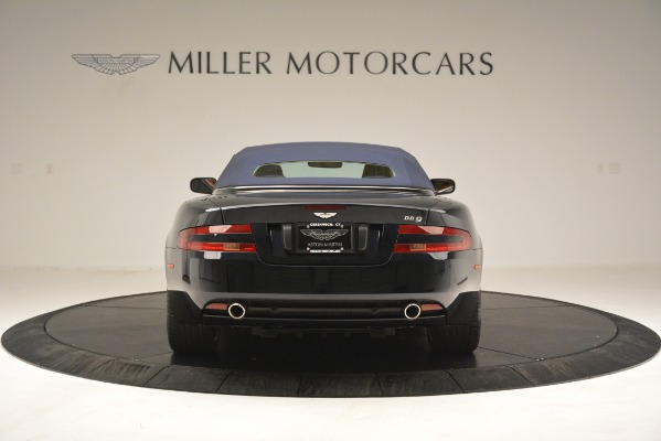 Used 2007 Aston Martin DB9 Convertible for sale Sold at Rolls-Royce Motor Cars Greenwich in Greenwich CT 06830 27