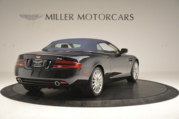 Used 2007 Aston Martin DB9 Convertible for sale Sold at Rolls-Royce Motor Cars Greenwich in Greenwich CT 06830 28
