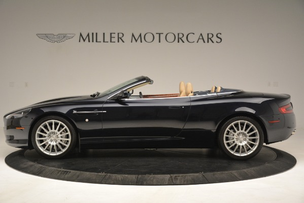 Used 2007 Aston Martin DB9 Convertible for sale Sold at Rolls-Royce Motor Cars Greenwich in Greenwich CT 06830 3