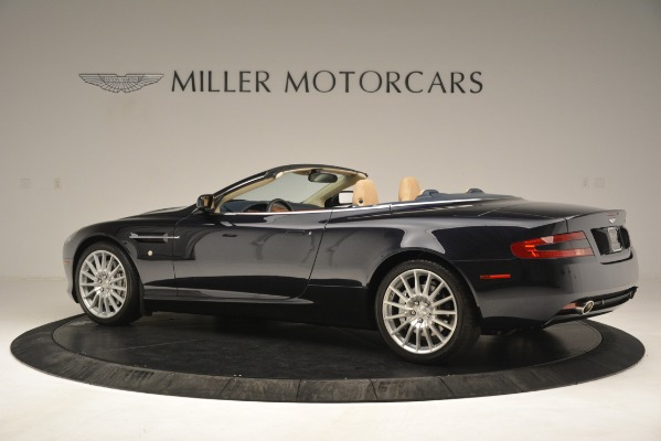 Used 2007 Aston Martin DB9 Convertible for sale Sold at Rolls-Royce Motor Cars Greenwich in Greenwich CT 06830 4