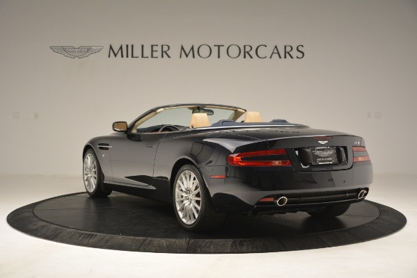 Used 2007 Aston Martin DB9 Convertible for sale Sold at Rolls-Royce Motor Cars Greenwich in Greenwich CT 06830 5