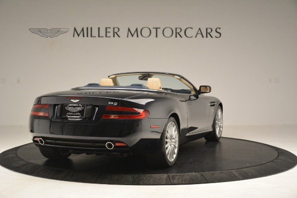 Used 2007 Aston Martin DB9 Convertible for sale Sold at Rolls-Royce Motor Cars Greenwich in Greenwich CT 06830 7