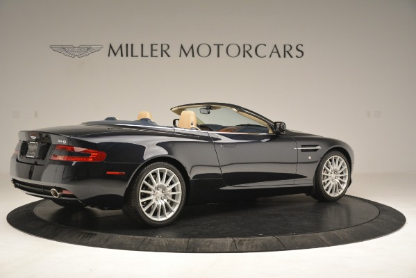 Used 2007 Aston Martin DB9 Convertible for sale Sold at Rolls-Royce Motor Cars Greenwich in Greenwich CT 06830 8