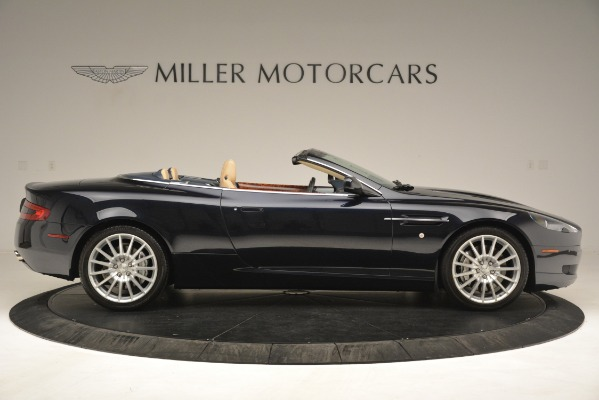 Used 2007 Aston Martin DB9 Convertible for sale Sold at Rolls-Royce Motor Cars Greenwich in Greenwich CT 06830 9