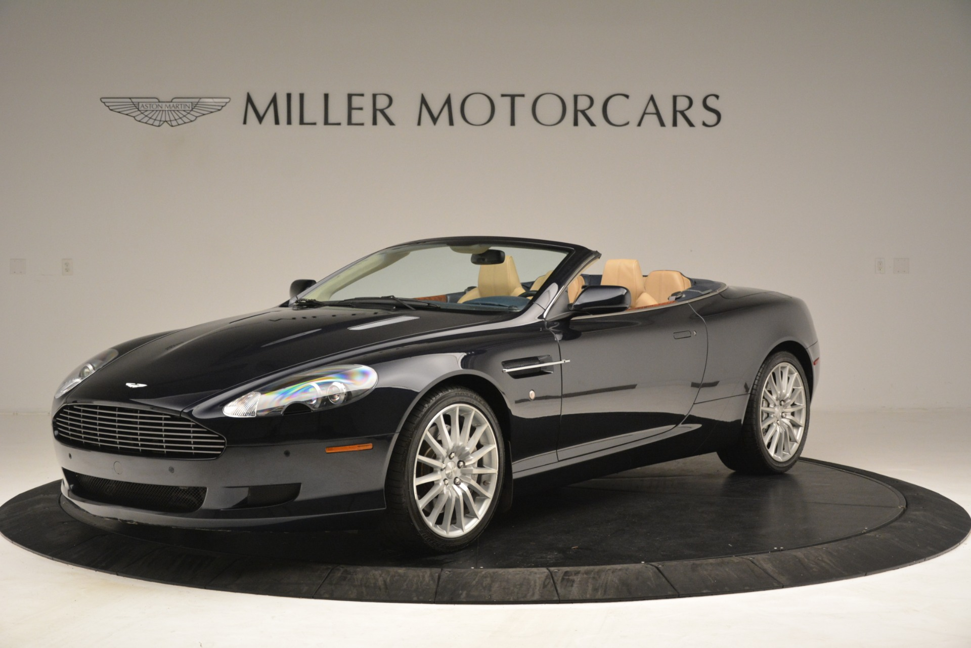 Used 2007 Aston Martin DB9 Convertible for sale Sold at Rolls-Royce Motor Cars Greenwich in Greenwich CT 06830 1