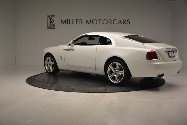 Used 2016 Rolls-Royce Wraith for sale Sold at Rolls-Royce Motor Cars Greenwich in Greenwich CT 06830 4