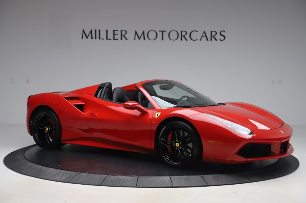 Used 2017 Ferrari 488 Spider for sale $275,900 at Rolls-Royce Motor Cars Greenwich in Greenwich CT 06830 10