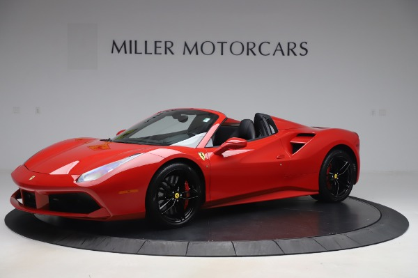 Used 2017 Ferrari 488 Spider for sale $273,900 at Rolls-Royce Motor Cars Greenwich in Greenwich CT 06830 2