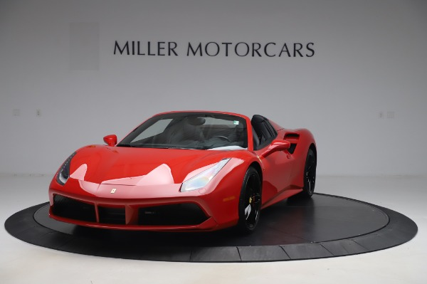 Used 2017 Ferrari 488 Spider for sale $275,900 at Rolls-Royce Motor Cars Greenwich in Greenwich CT 06830 1