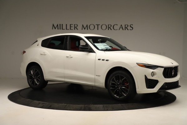 New 2019 Maserati Levante Q4 GranSport Nerissimo for sale $87,845 at Rolls-Royce Motor Cars Greenwich in Greenwich CT 06830 10