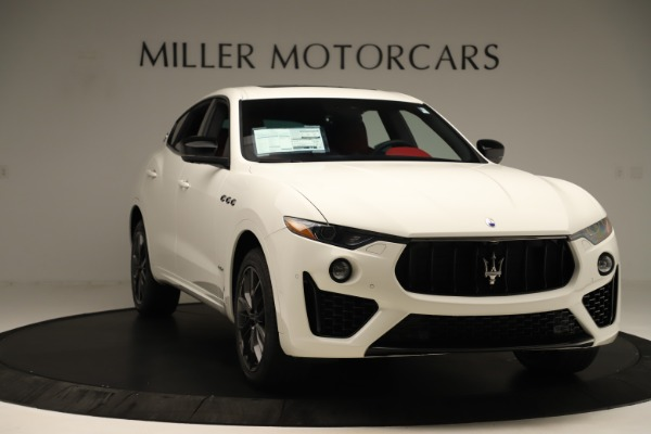 New 2019 Maserati Levante Q4 GranSport Nerissimo for sale $87,845 at Rolls-Royce Motor Cars Greenwich in Greenwich CT 06830 11